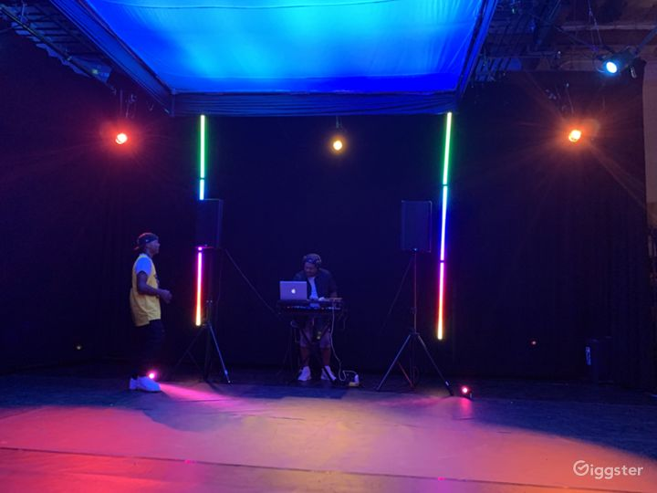 Custom lighting for Live events and music videos.