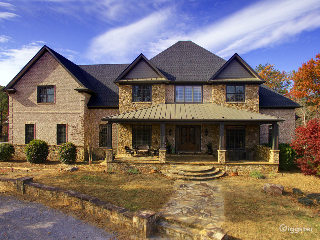 Home off the beaten path just North of Atlanta