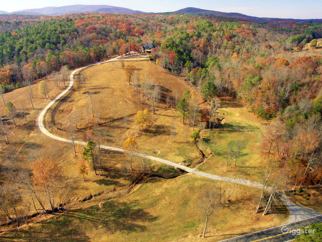 50 acres of land, 3 streams, walking bridge, forest, rock formations