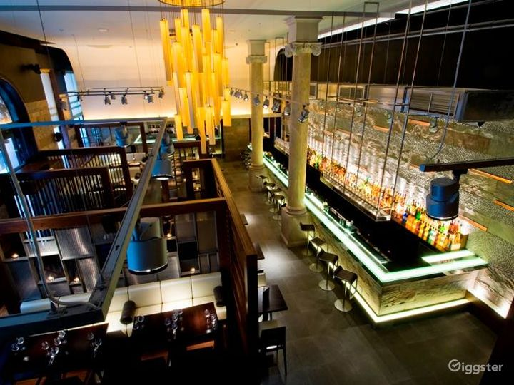 Stylish and Contemporary Modern Indian Restaurant Photo 3