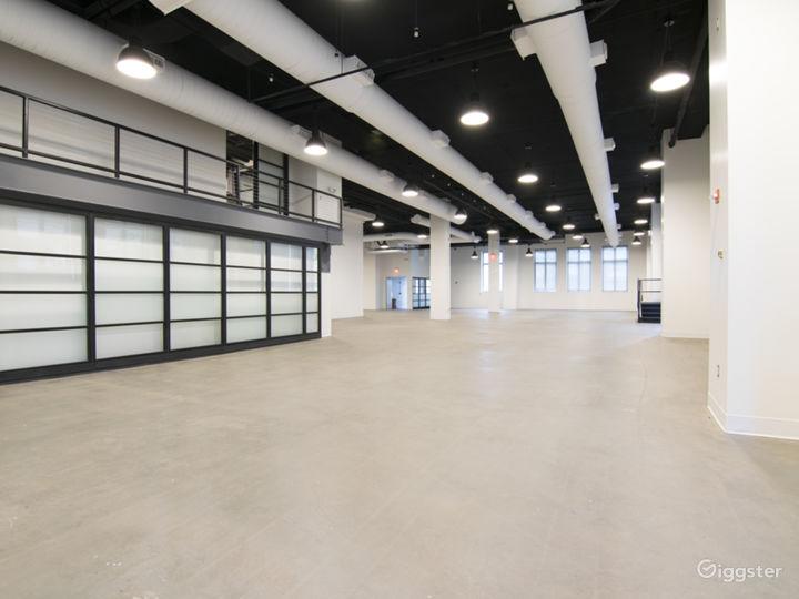 Modern, industrial venue in downtown D.C.