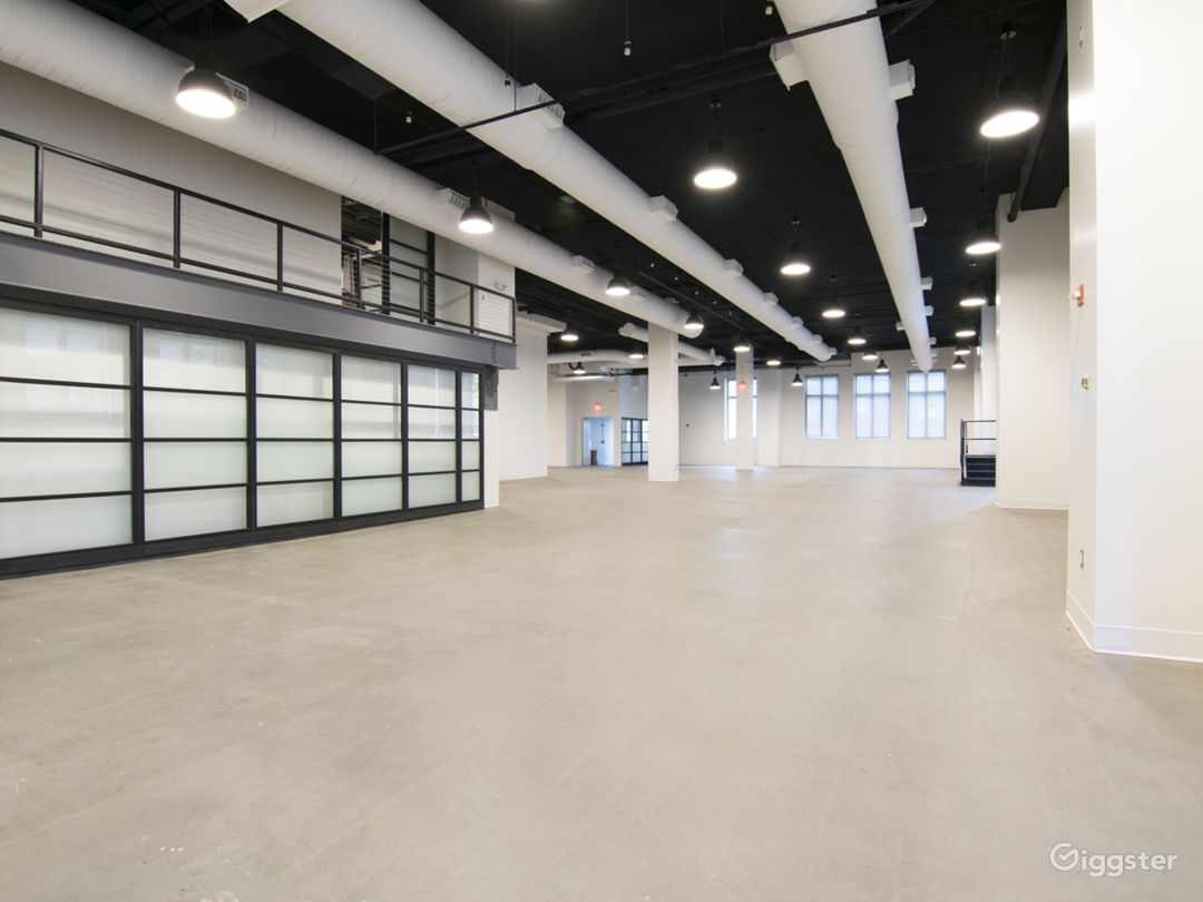Modern, industrial venue in downtown D.C. Photo 1