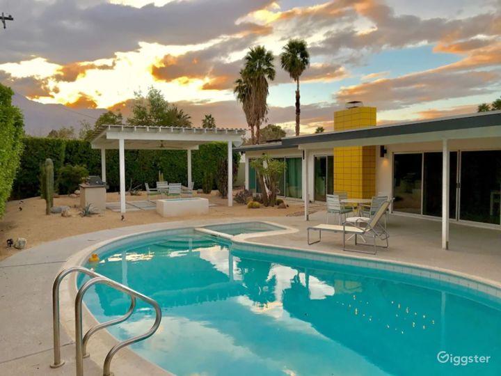 Spacious Midcentury Pool/spa Home Recent Upgrade