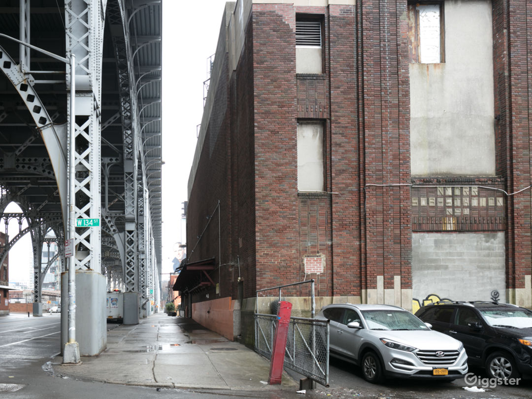 Vacant Lot and Roof Along NYC Viaduct Photo 5