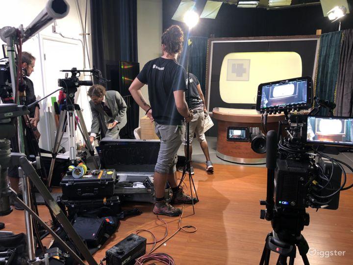 FILMING, BROADCASTING, CASTING STUDIO SPACE.