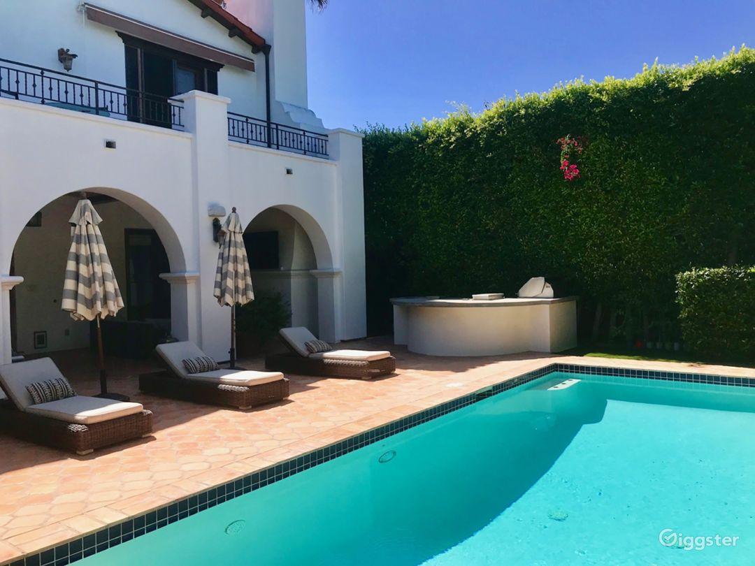 Beautiful Spanish Backyard w/ Pool, BBQ & Patio Photo 1