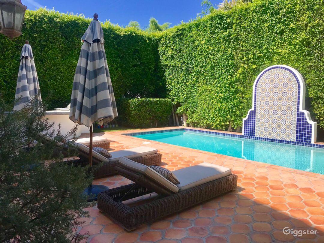 Beautiful Spanish Backyard w/ Pool, BBQ & Patio Photo 2