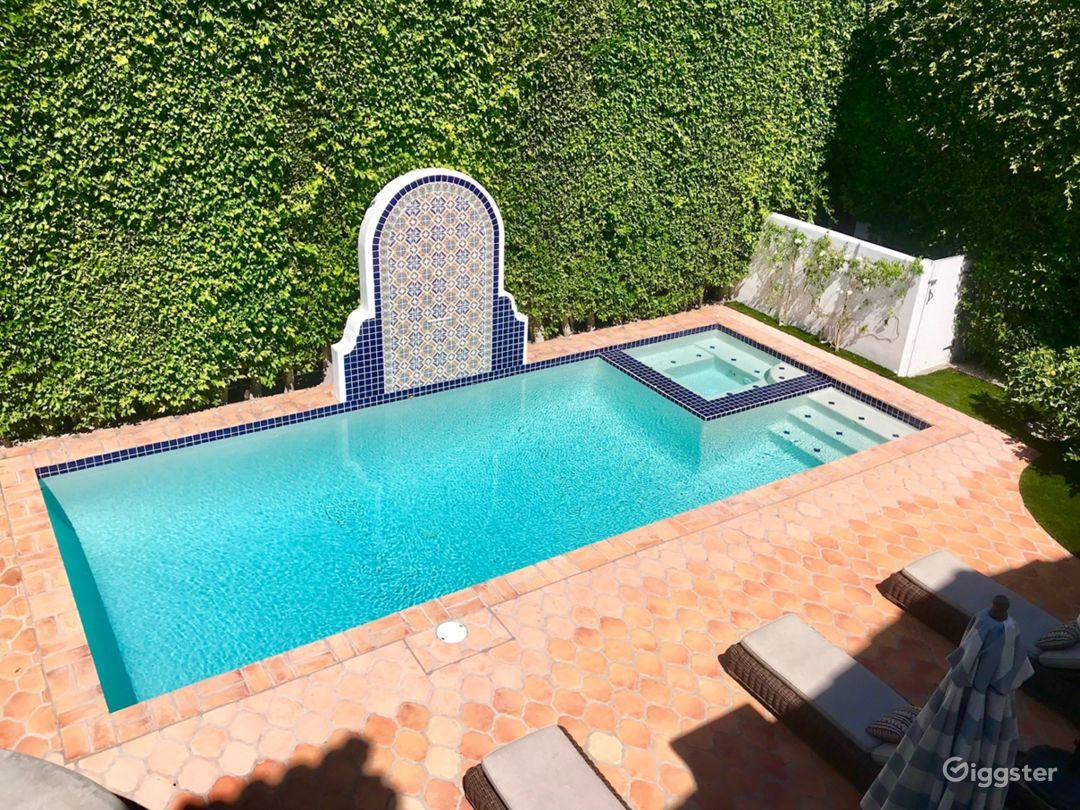 Beautiful Spanish Backyard w/ Pool, BBQ & Patio Photo 4