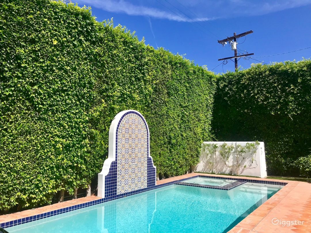 Beautiful Spanish Backyard w/ Pool, BBQ & Patio Photo 5