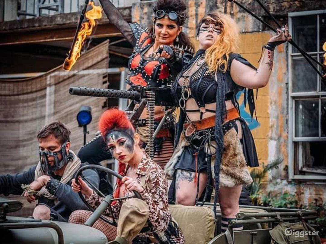 Zombie Photo Shoot Festival
