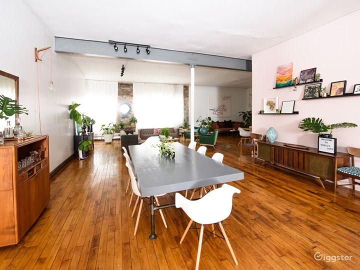 Lifestyle studio/loft: Location 5214 Photo 2