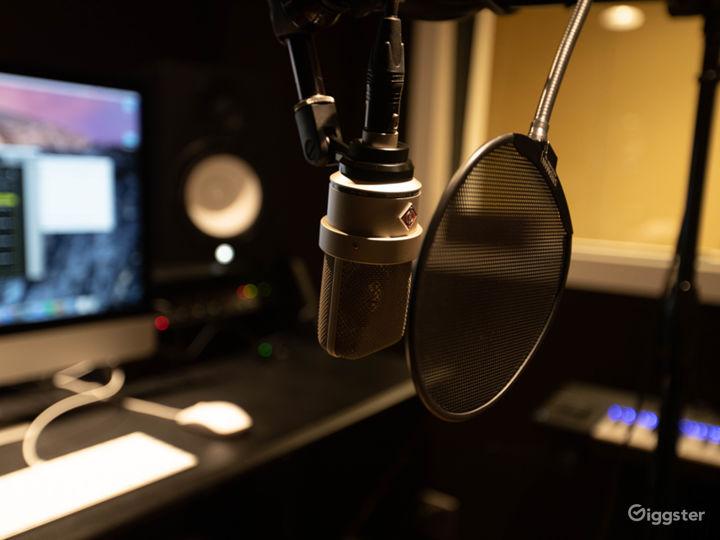 Studio B - TLM 103 Microphone