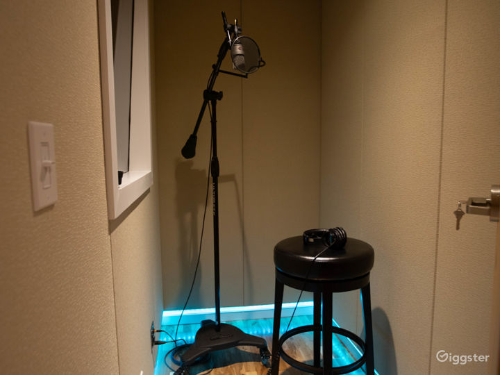Studio B - Vocal Booth
