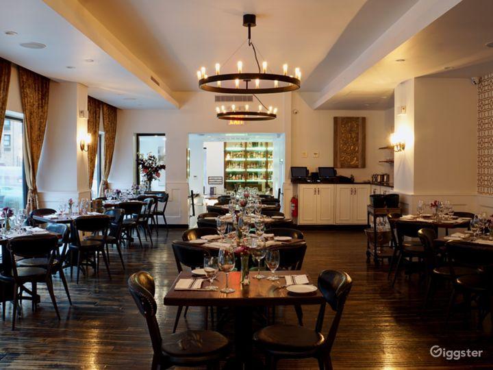 Elegant Restaurant in Midtown East