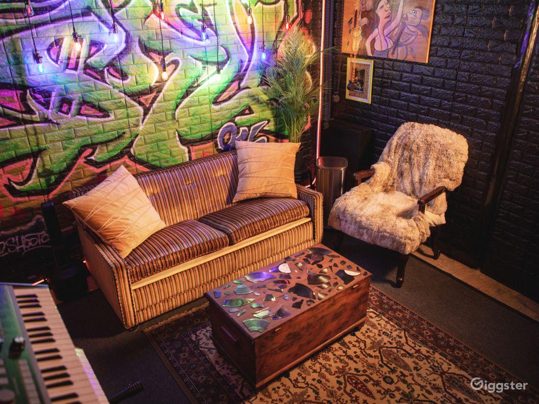 Funky Cool Aesthetic Audio Studio Photo 1