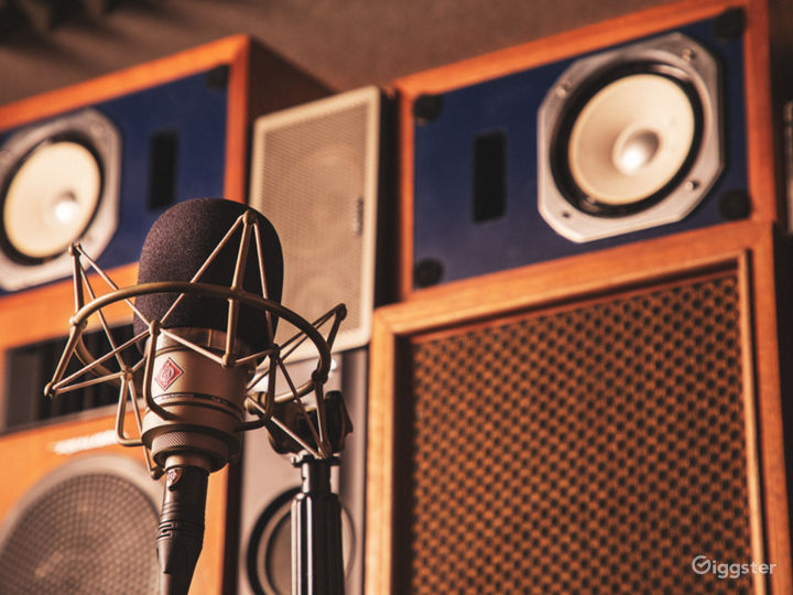 Funky Cool Aesthetic Audio Studio Photo 4