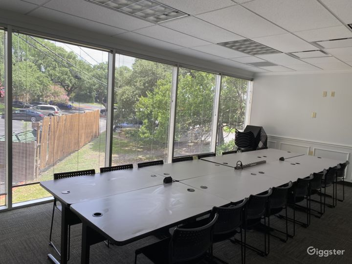 Espresso-Training Room with Wooded Exterior Views Photo 5