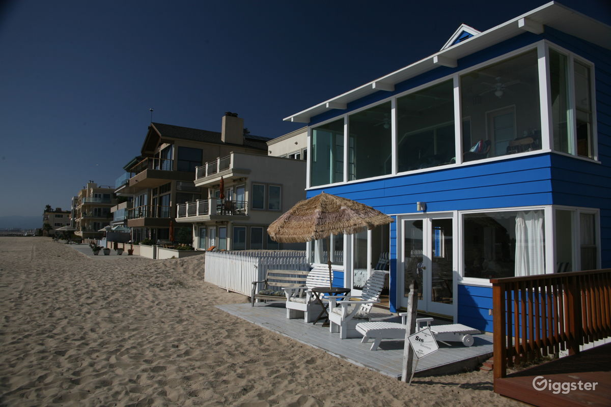 Throwback Los Angeles Beach House Residential Filming Location In Ca 90293