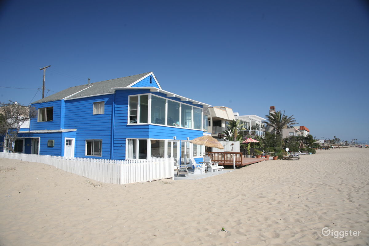 The House Residential Throwback Los Angeles Beach For Filming Photo Shooting