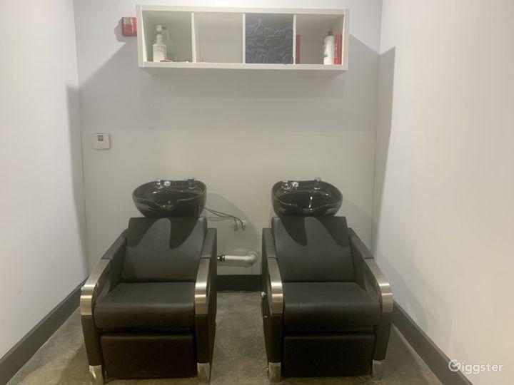 Shampoo Bowl Stations