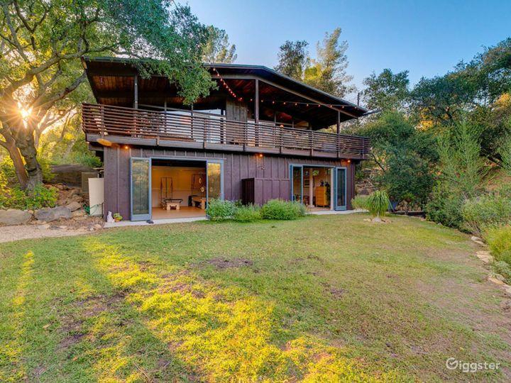 Mid Century Modern Ojai Cottage