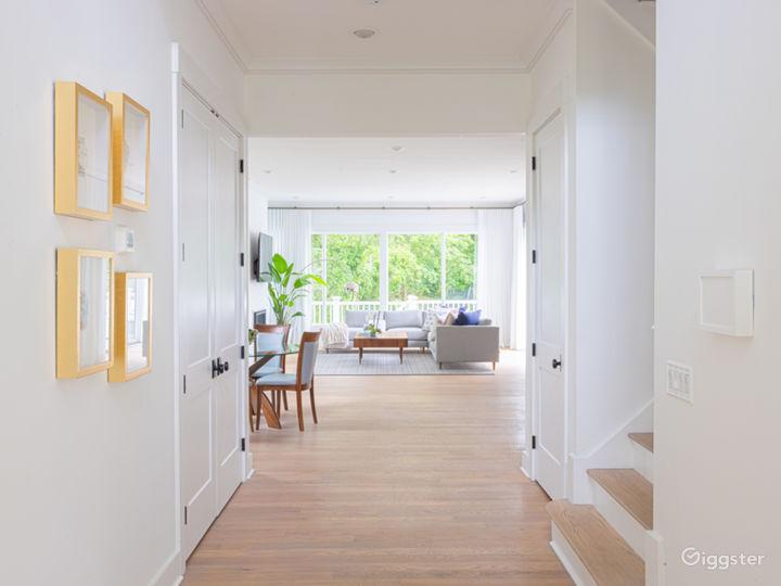 Entry hallway - facing in