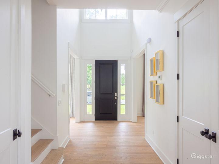 Entry hallway - facing front door