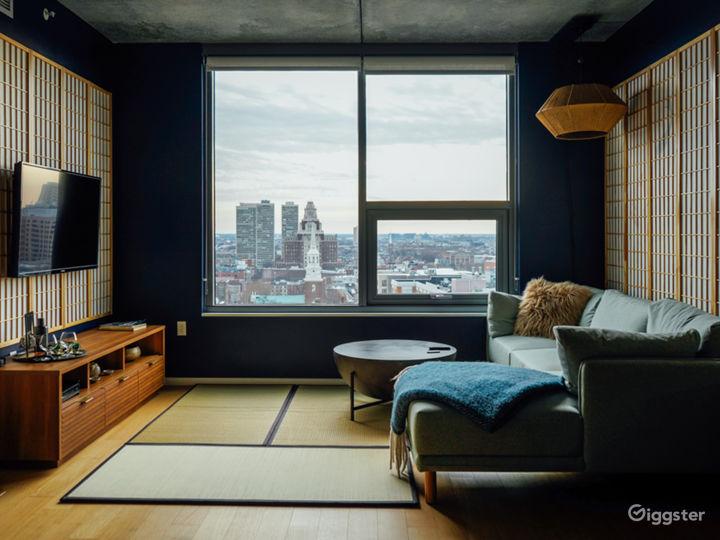 Zen Penthouse 1BR Apartment