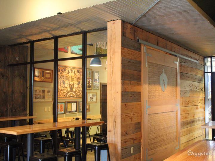 Cozy Taproom with Breakout Space Photo 5