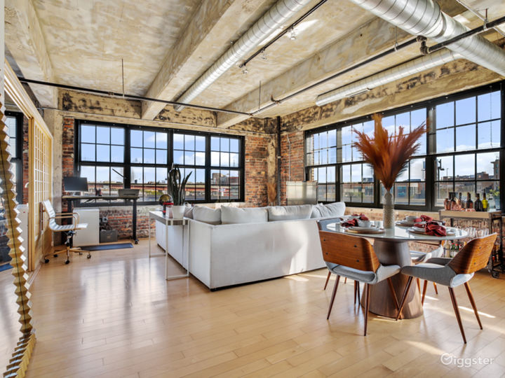Downtown Industrial Loft w/ Natural Lighting
