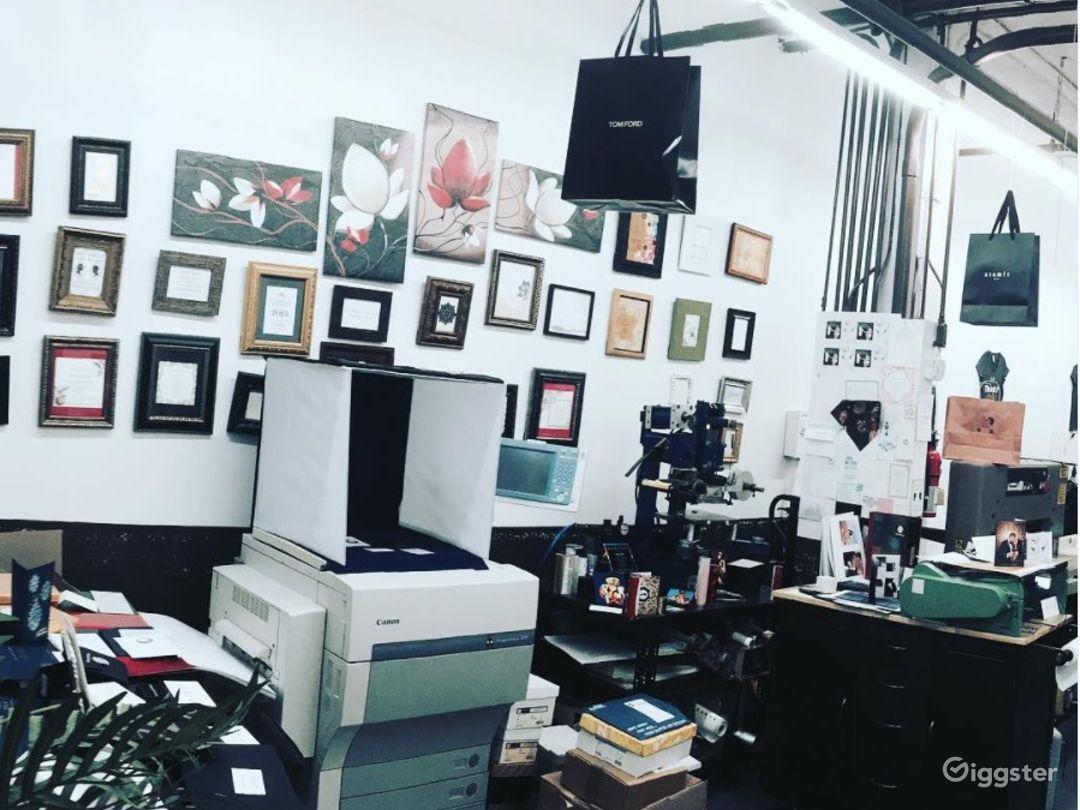 Vintage Printing Studio in Long Island City Photo 1