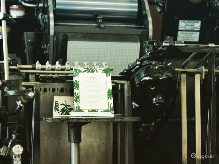 Vintage Printing Studio in Long Island City Photo 3