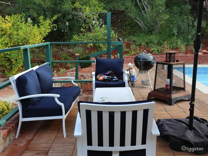 Backyard upper level