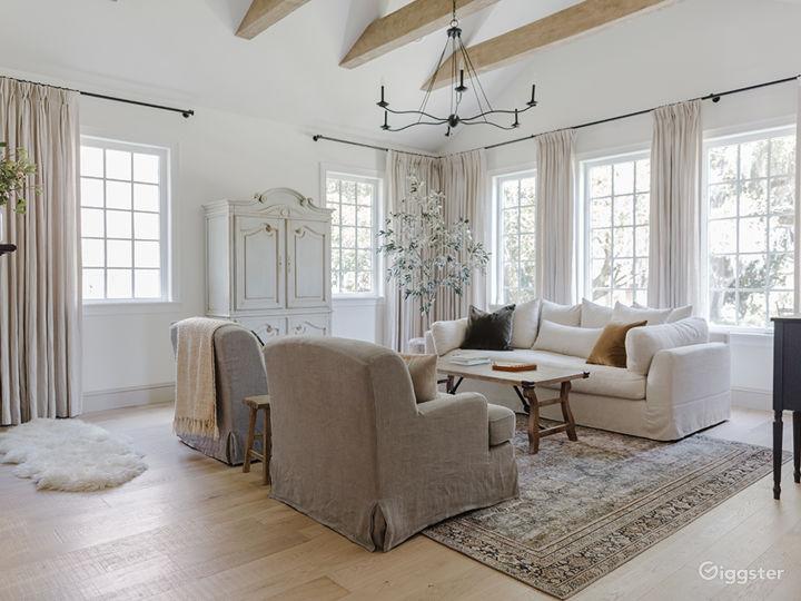 Modern day French-country custom designer home
