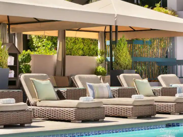 A Beautiful and Spacious Pool Area in Sunnyvale Photo 3