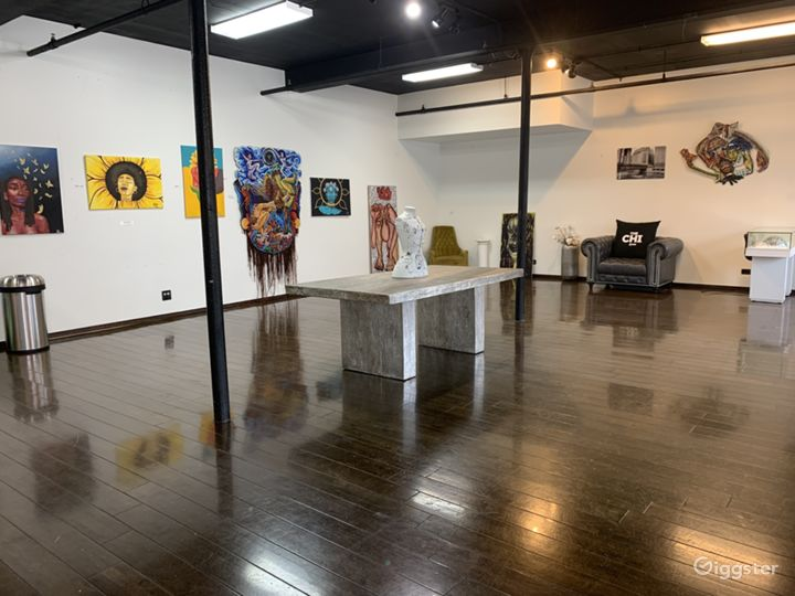 Creative Open Space Location in Bronzeville