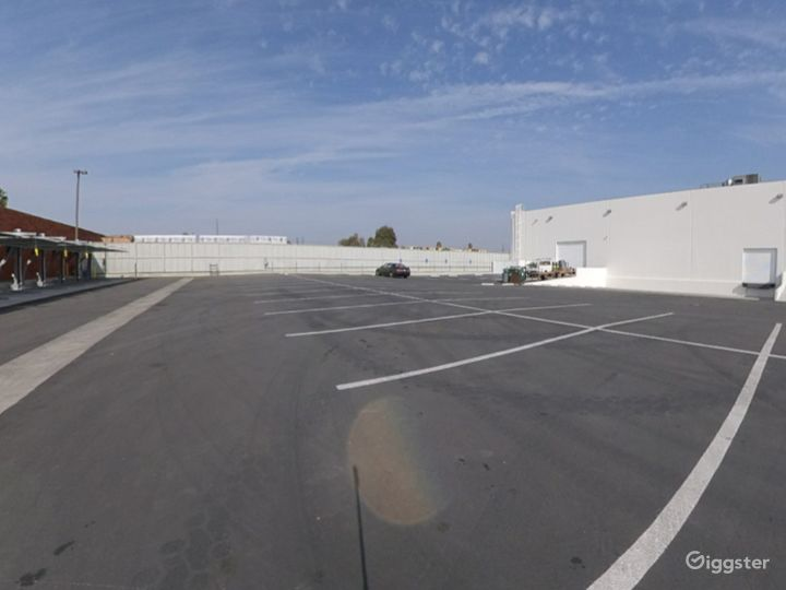 Parking for over 120 vehicles plus 25,000 sq ft adjacent parking for cars and trucks.