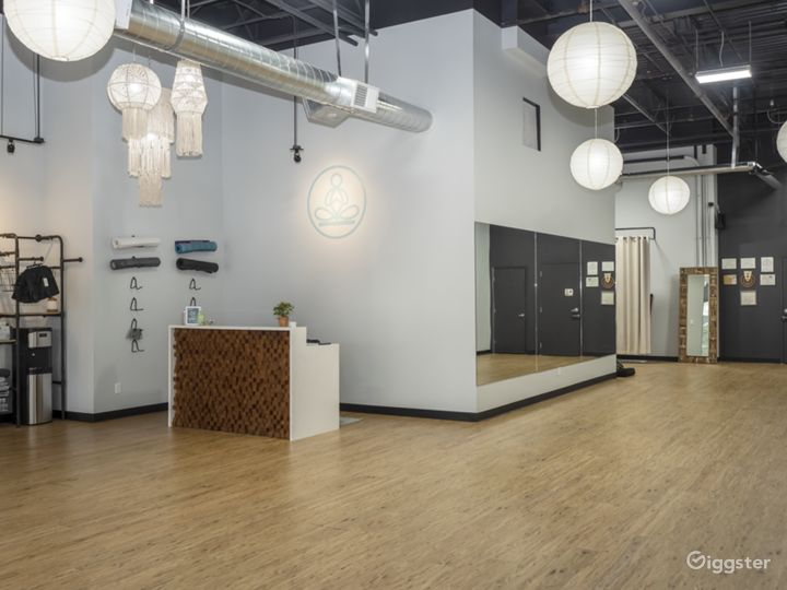 Light, Warm, Airy, and Welcoming Yoga Studio Photo 2