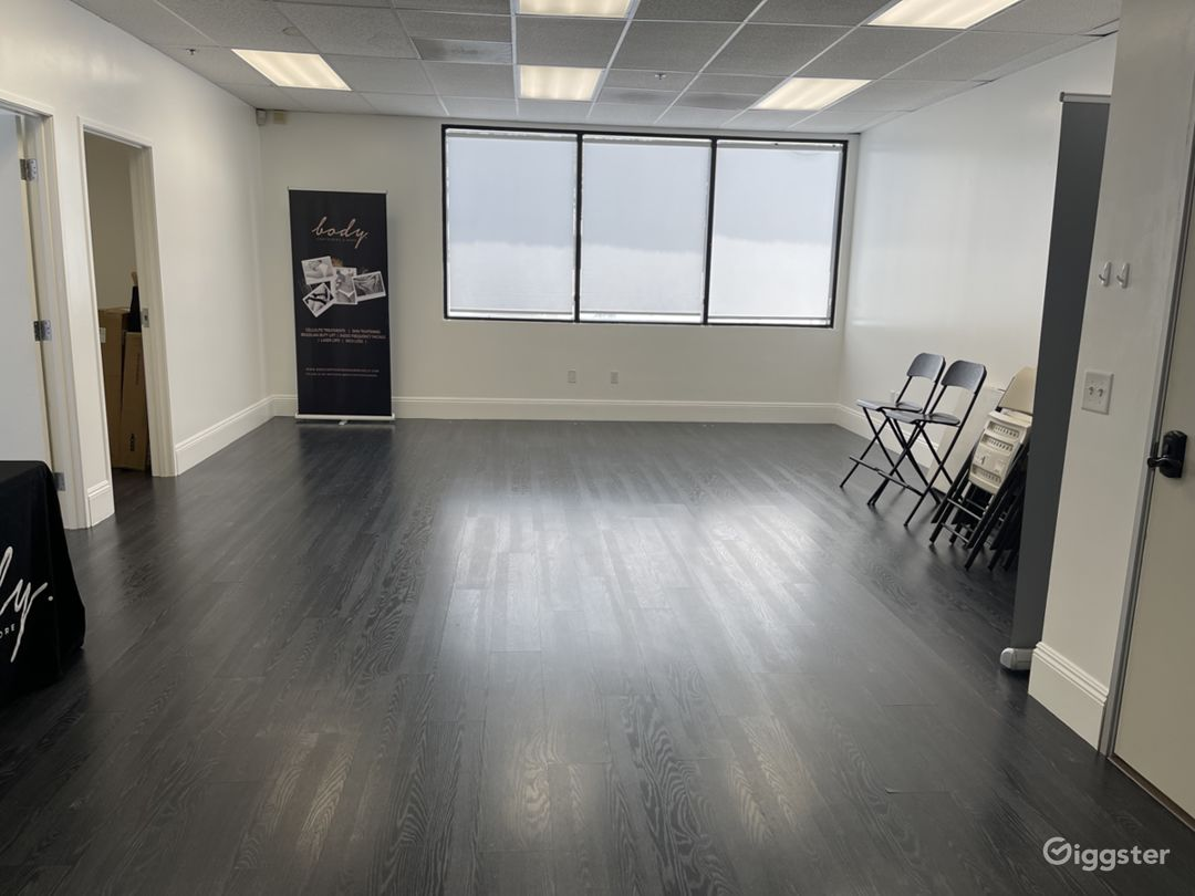 Large open space that's perfect for any training