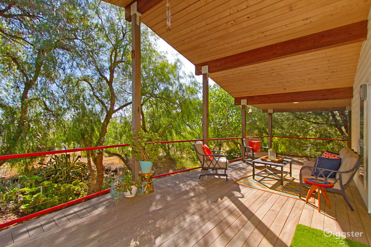 Luxury European Cabin in Winchester Los Angeles Rental