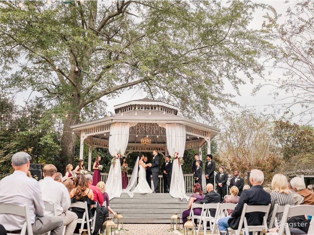 Enchanting Garden Wedding Reception  Photo 1