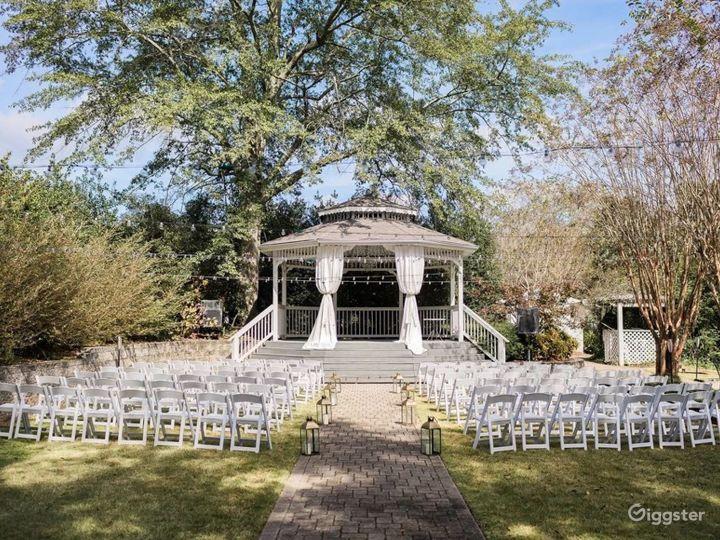 Enchanting Garden Wedding Reception  Photo 2