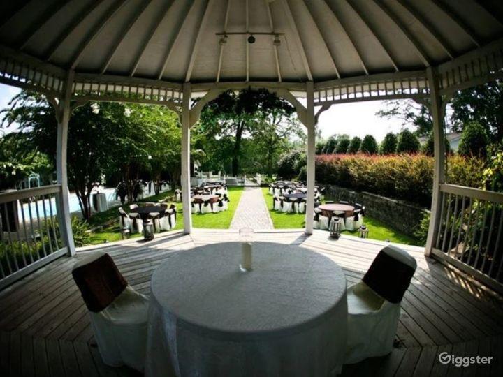 Enchanting Garden Wedding Reception  Photo 4
