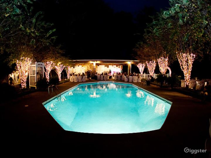 Enchanting Garden Wedding Reception  Photo 3