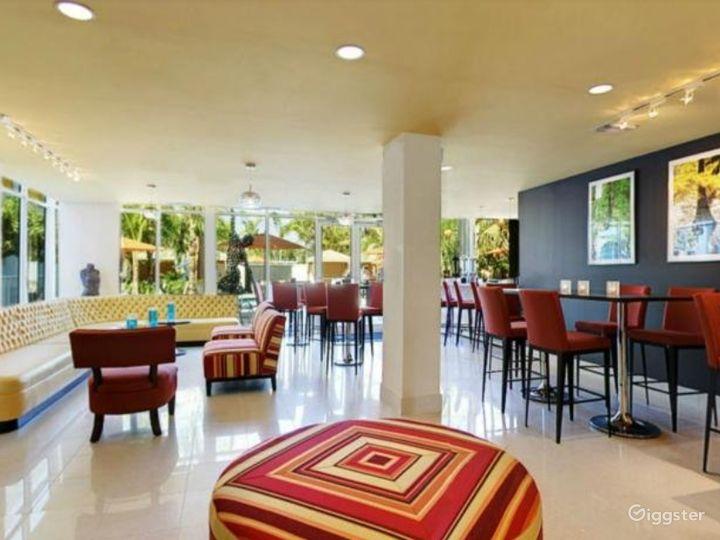 Beautiful Hotel Restaurant in Brickell