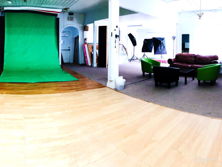 Shooting Room: Studio Space Arlington