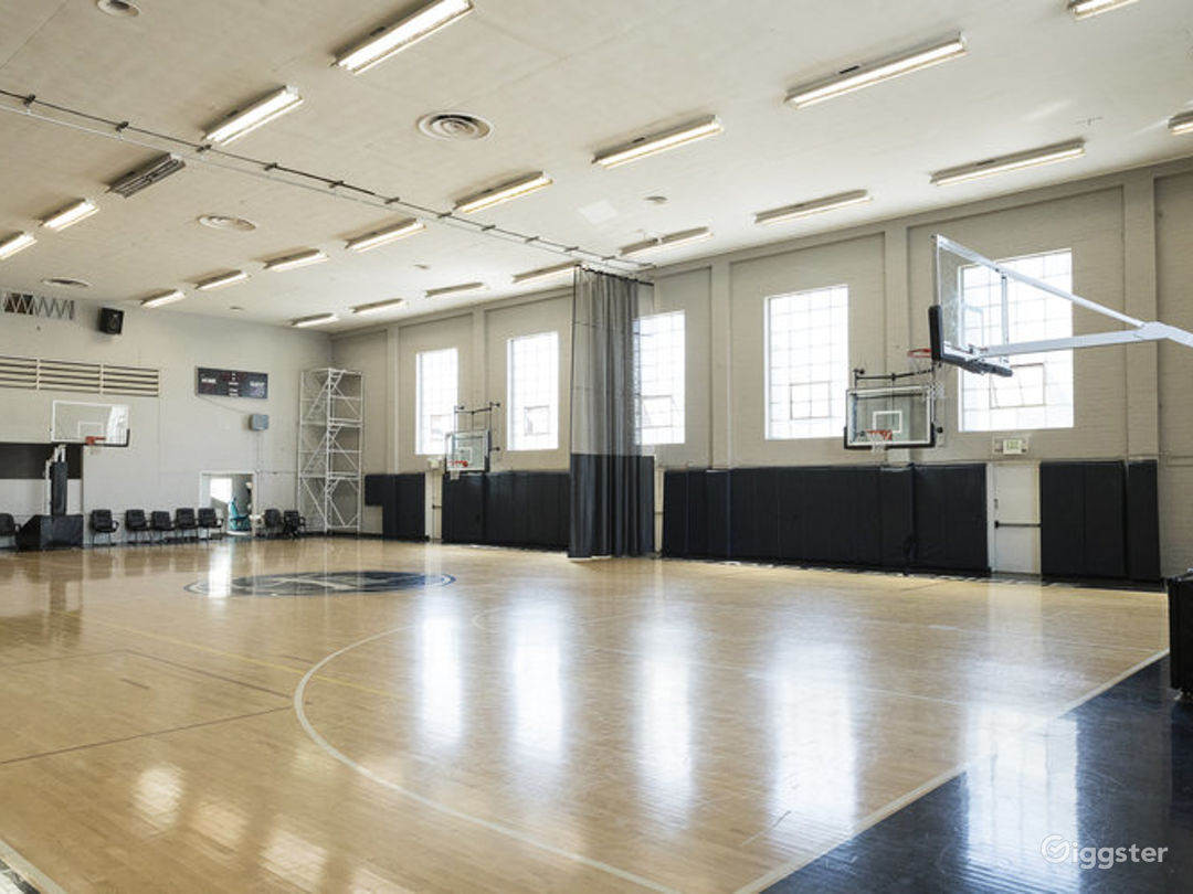 Basketball Court Indoor Nba Sized Beverly Hills Rent This Location On Giggster