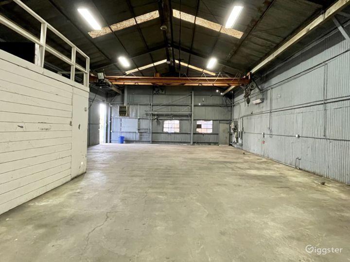 Industrial Warehouse Studio with Crane Photo 5