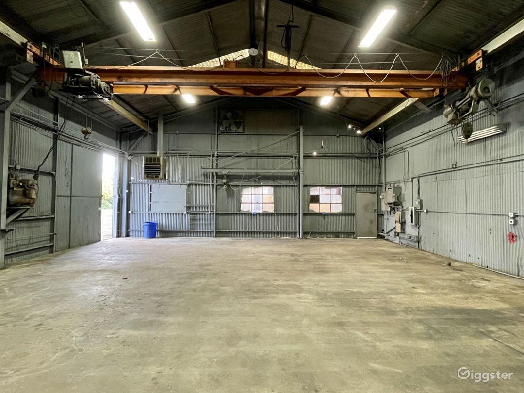 Industrial Warehouse Studio with Crane Photo 1