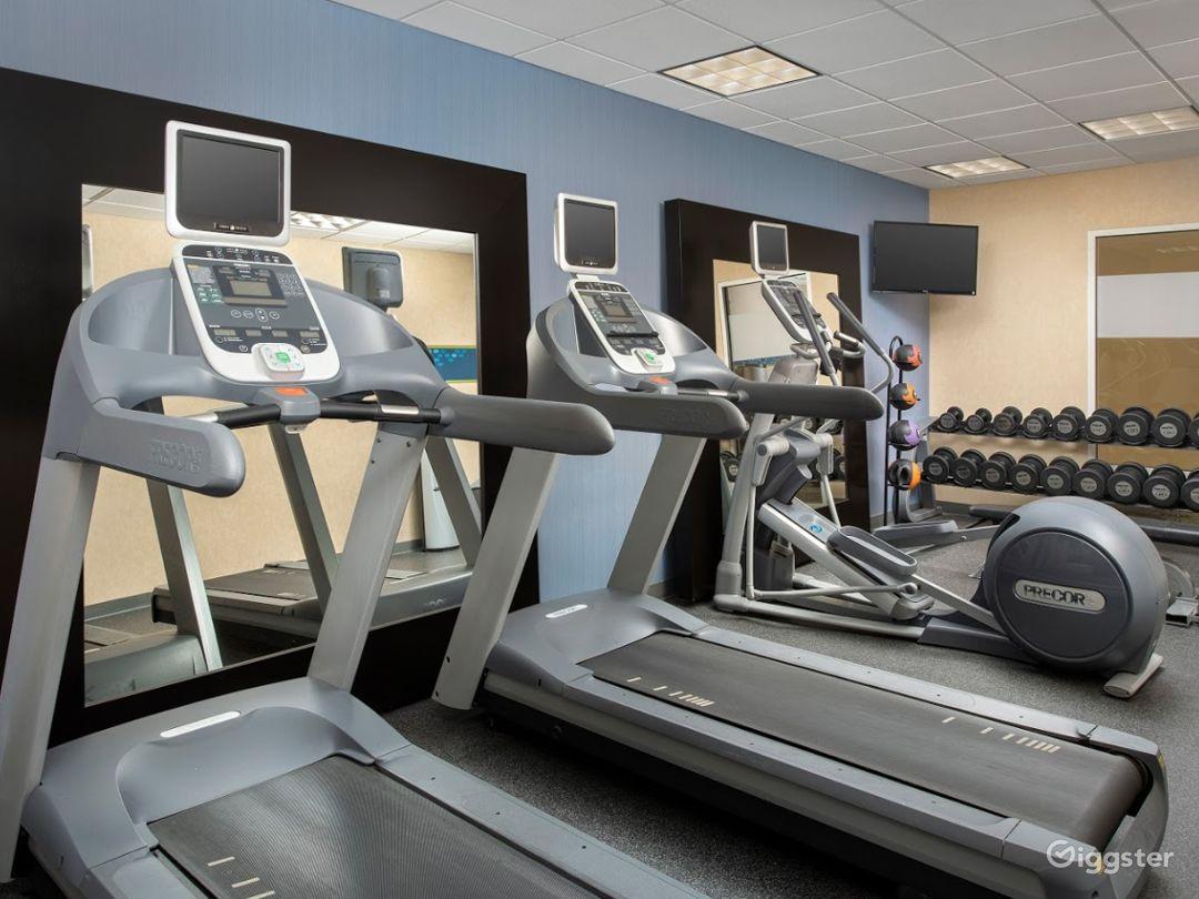 Modern Hotel Gym in Lakeland Photo 1